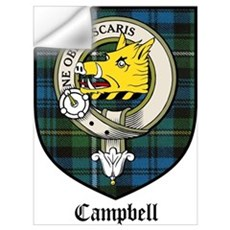 Campbell Clan Crest Tartan Wall Decal